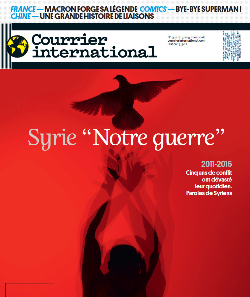 COURRIER INTERNATIONAL N°1322 du 3 au 9 Mars 2016