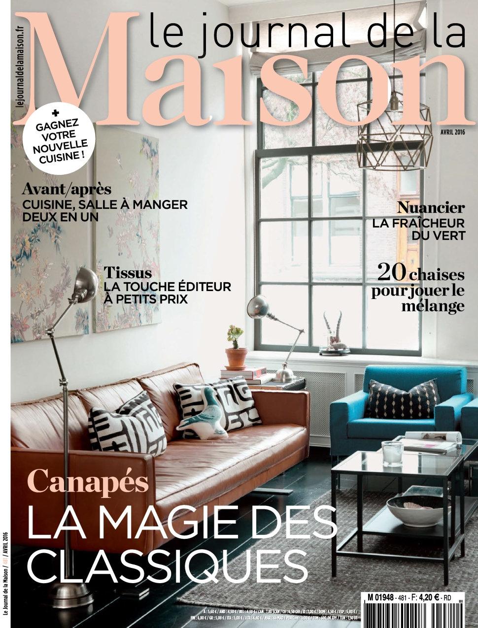 Le Journal de la Maison N°481 - Avril 2016