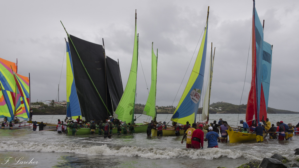 Courses de yoles en Martinique 160308011610736432