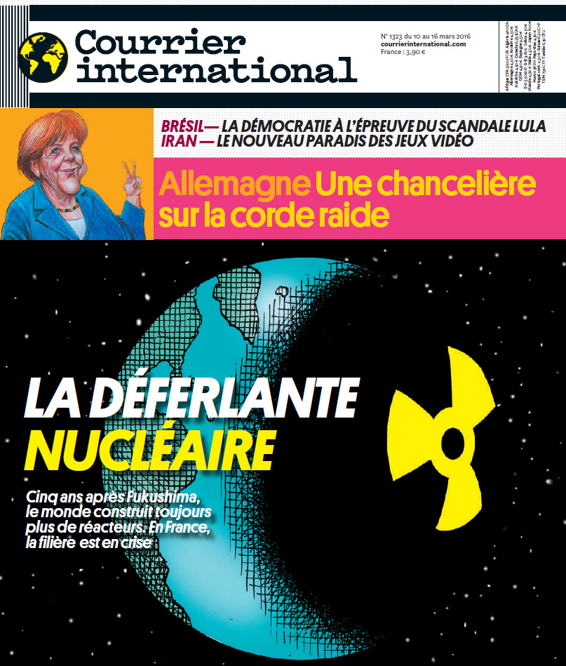 COURRIER INTERNATIONAL N°1323 du 10 au 16 Mars 2016