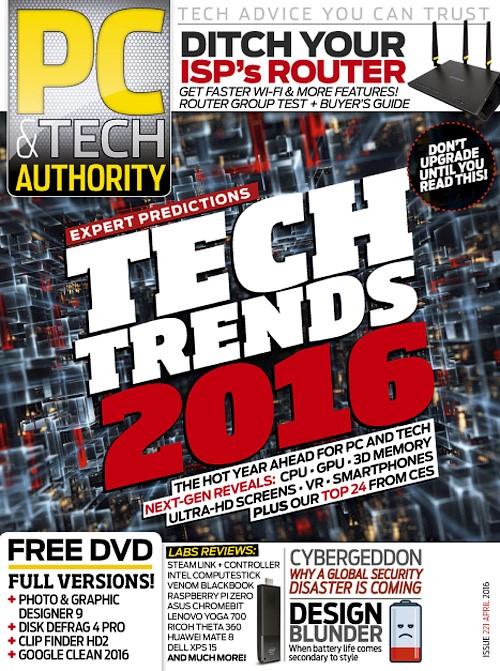 PC & Tech Authority - April 2016