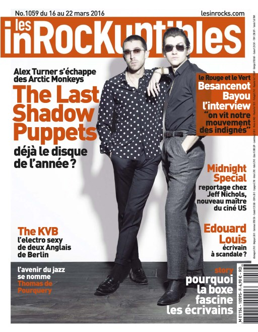 Les Inrockuptibles N°1059 - 16 au 22 Mars 2016
