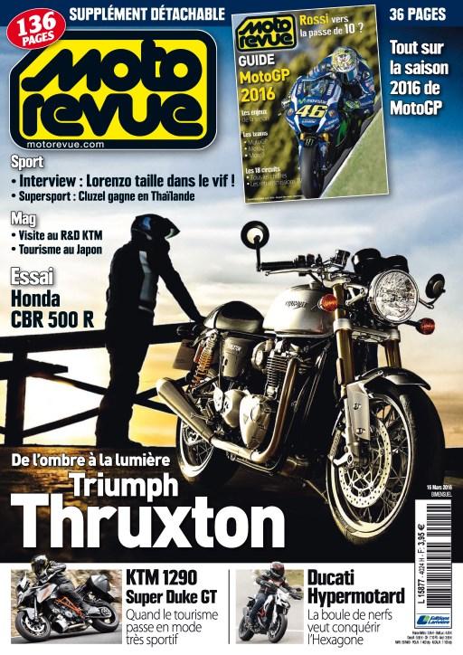Moto Revue N°4024  - 16 Mars 2016