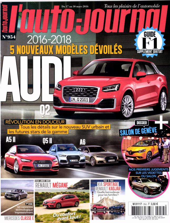 L'Auto-Journal N°954 - 17 au 30 Mars 2016