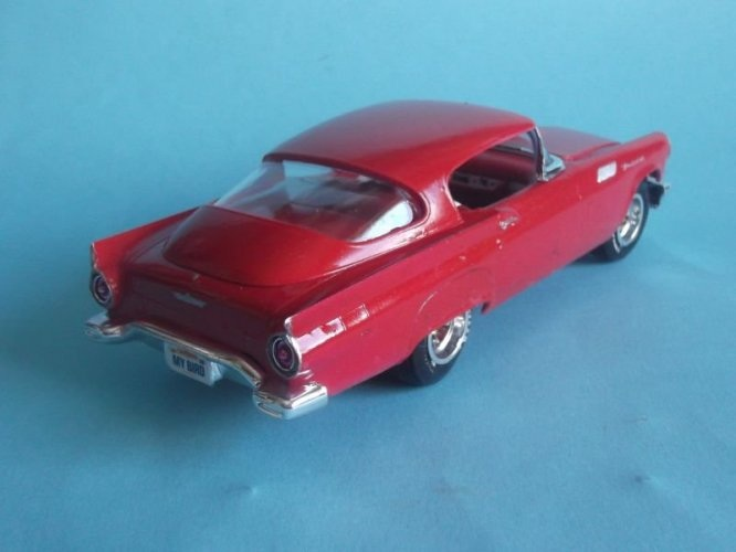 cherche hard top custom Ford Thunderbird 1957 AMT  160317054835705839