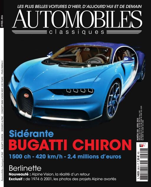 Automobiles Classiques N°260 - Avril 2016