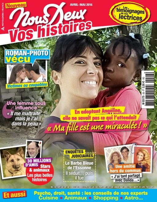 Nous Deux Hors-Série Vécu N°26 - Avril/Mai 2016