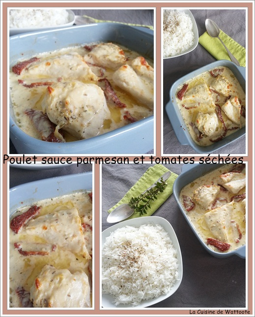 poulet parmesan tomates