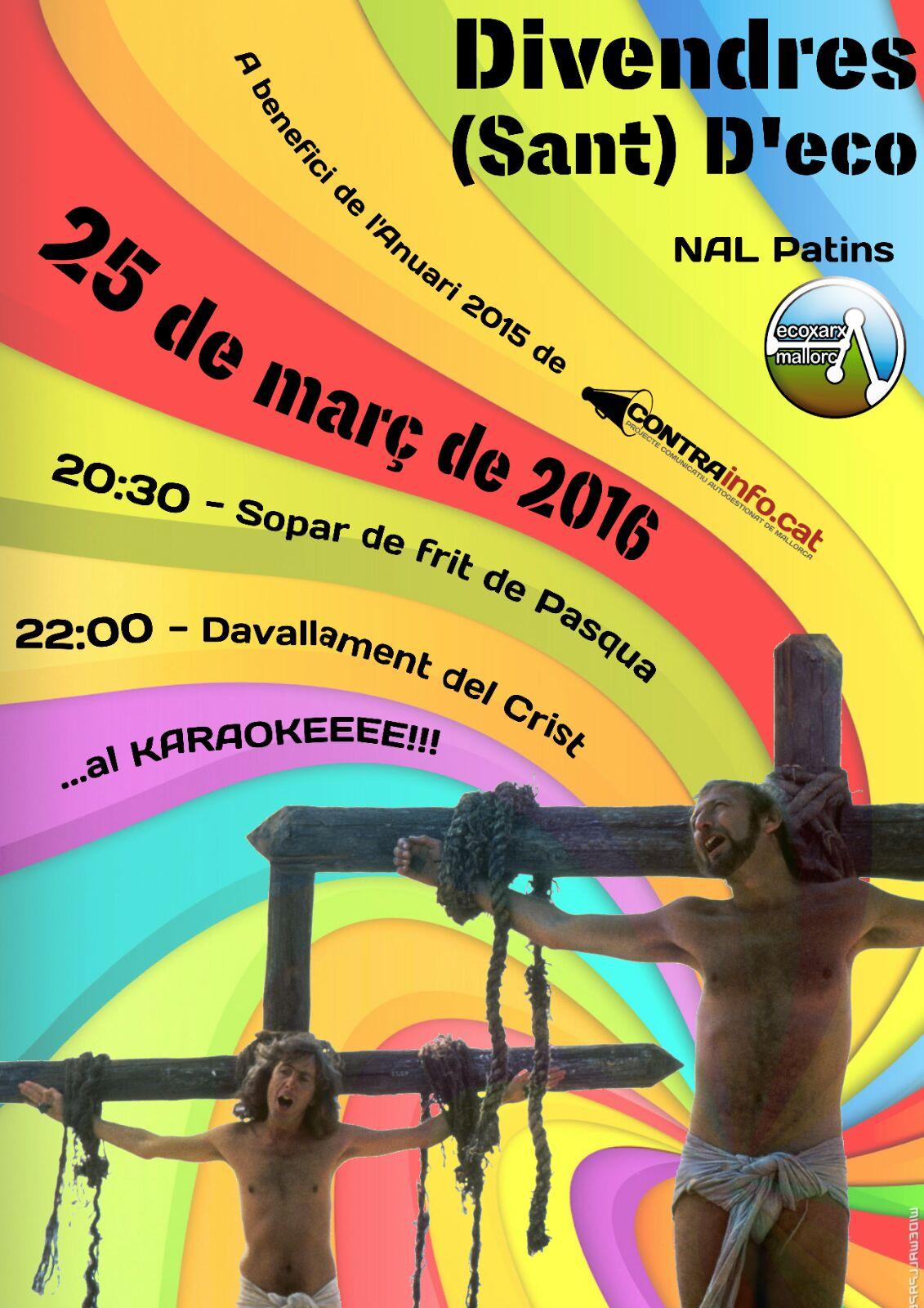 Divendres (Sant) d'Eco (25-03-16)