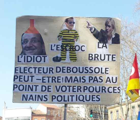 slogan de manifestation