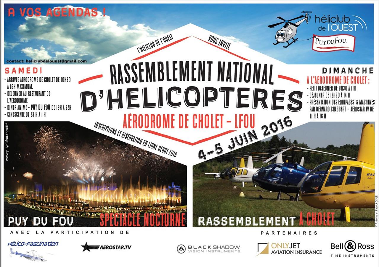 Grand rassemblement national d'hélicoptères à Cholet les 04 & 05 juin 2016 160327051432380914