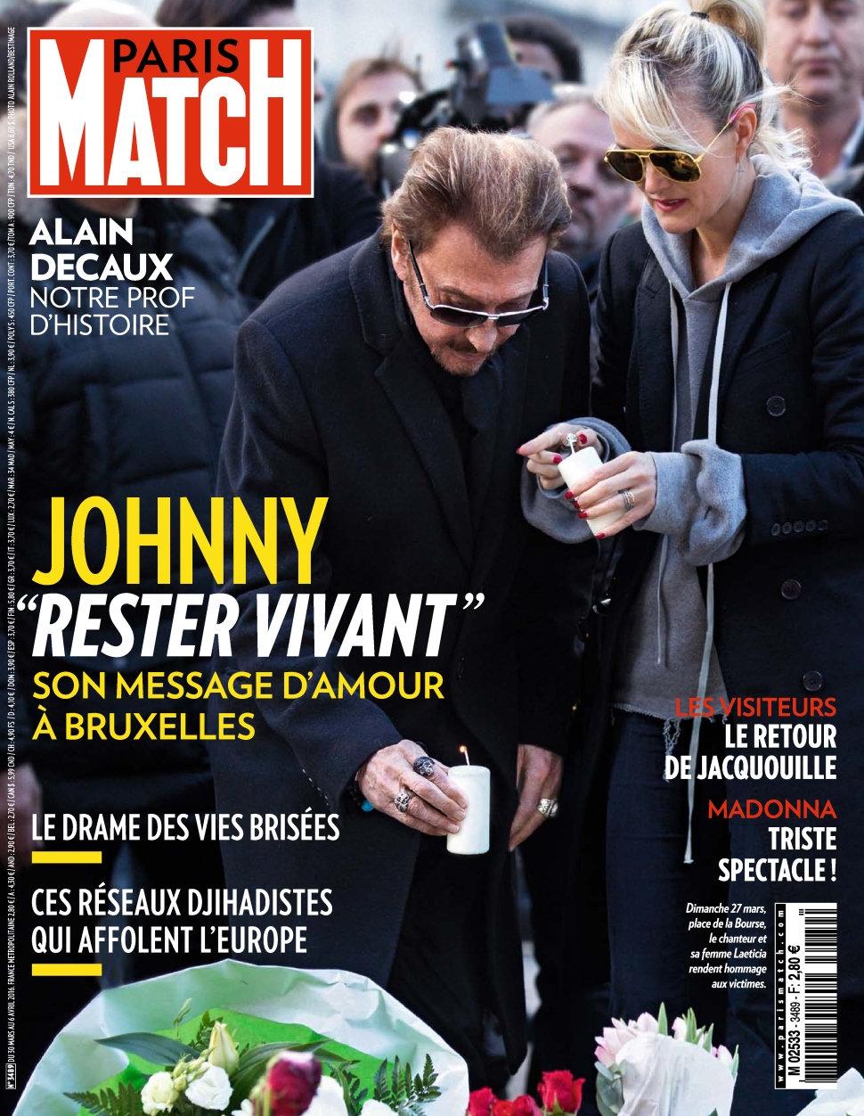Paris Match N°3489 - 30 Mars au 6 Avril 2016