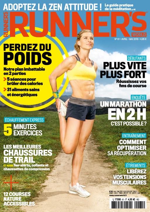 Runner's World France N°61 - Avril - Mai 2016