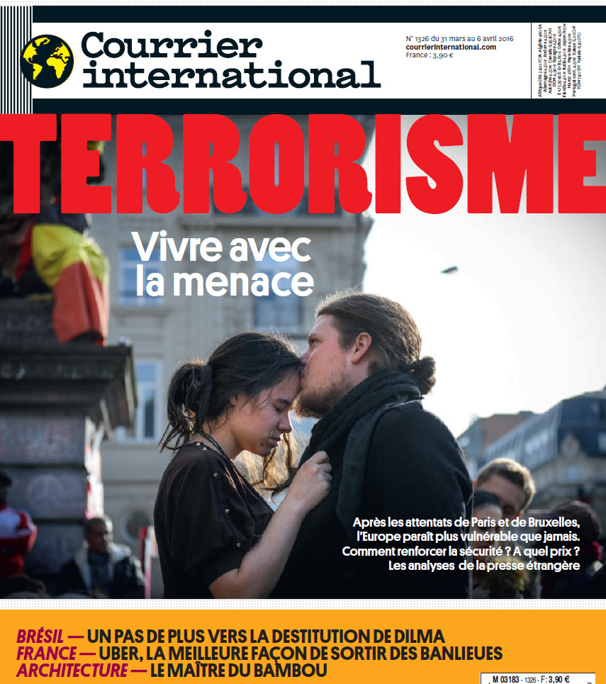 COURRIER INTERNATIONAL N°1326 du 31 Mars au 06 Avril 2016