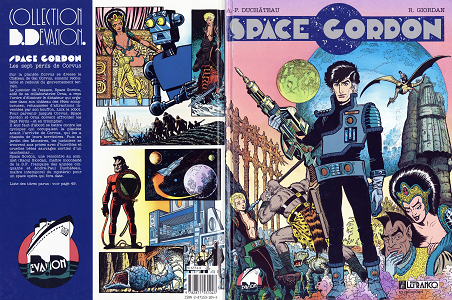 Space Gordon - Tome 1 - Les Sept Perils de Corvus