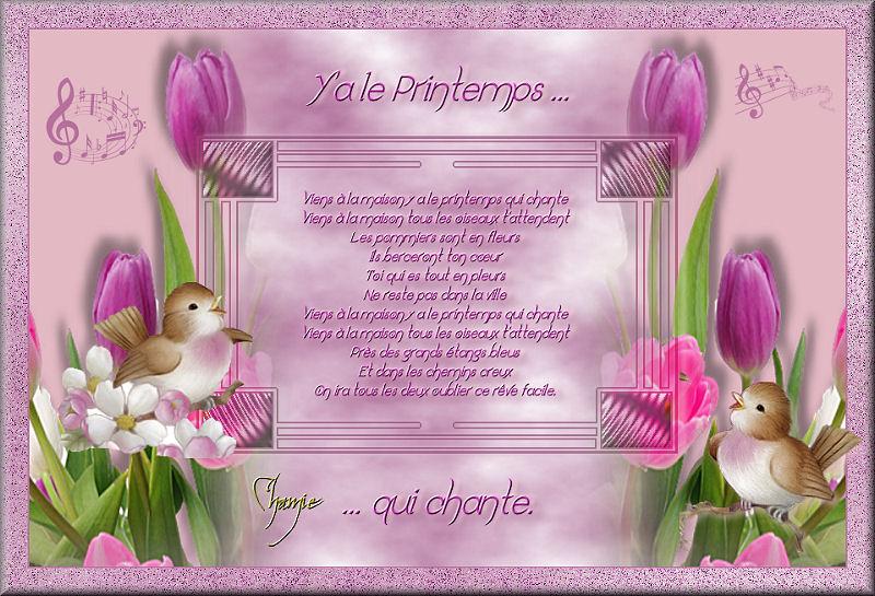 Y'a le printemps qui chante (PSP) 16040304555064384