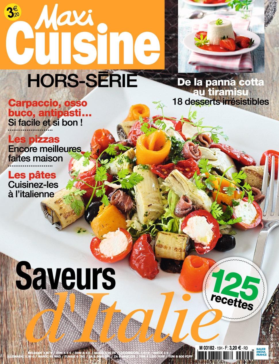 Maxi Cuisine Hors Série N°15 - Avril/Mai 2016