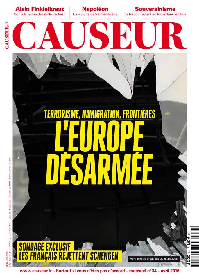Causeur - Avril 2016