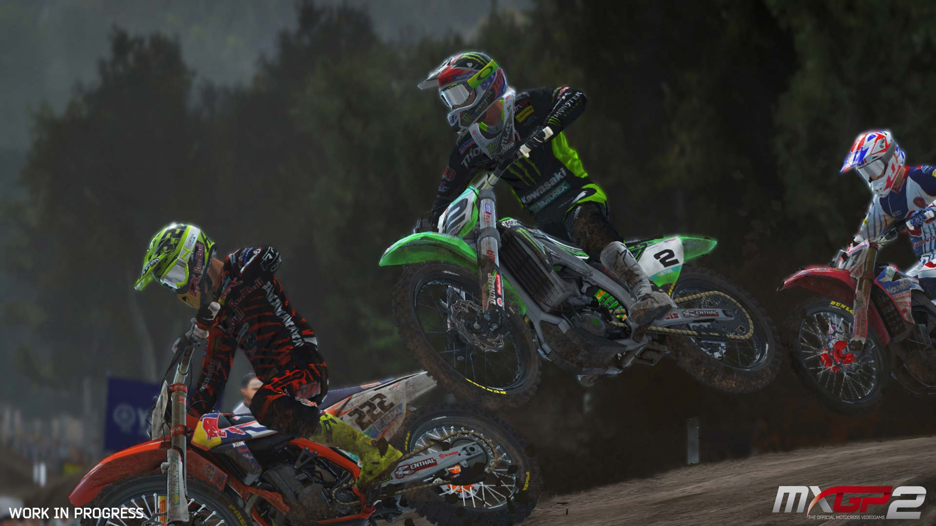 MXGP2: The Official Motocross Videogame image 3