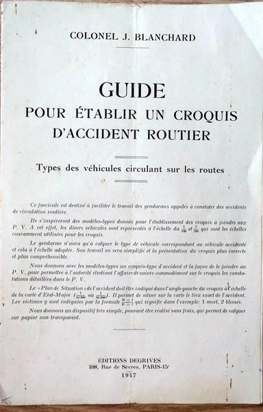 Guide pour établir un croquis d'accident routier 160409061249289441