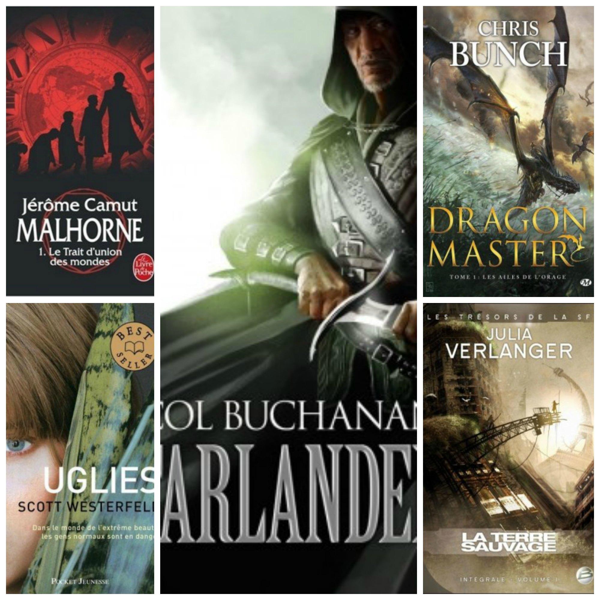 83 livres de fantasy