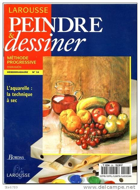 Larousse Peindre et Dessiner - Tome 3