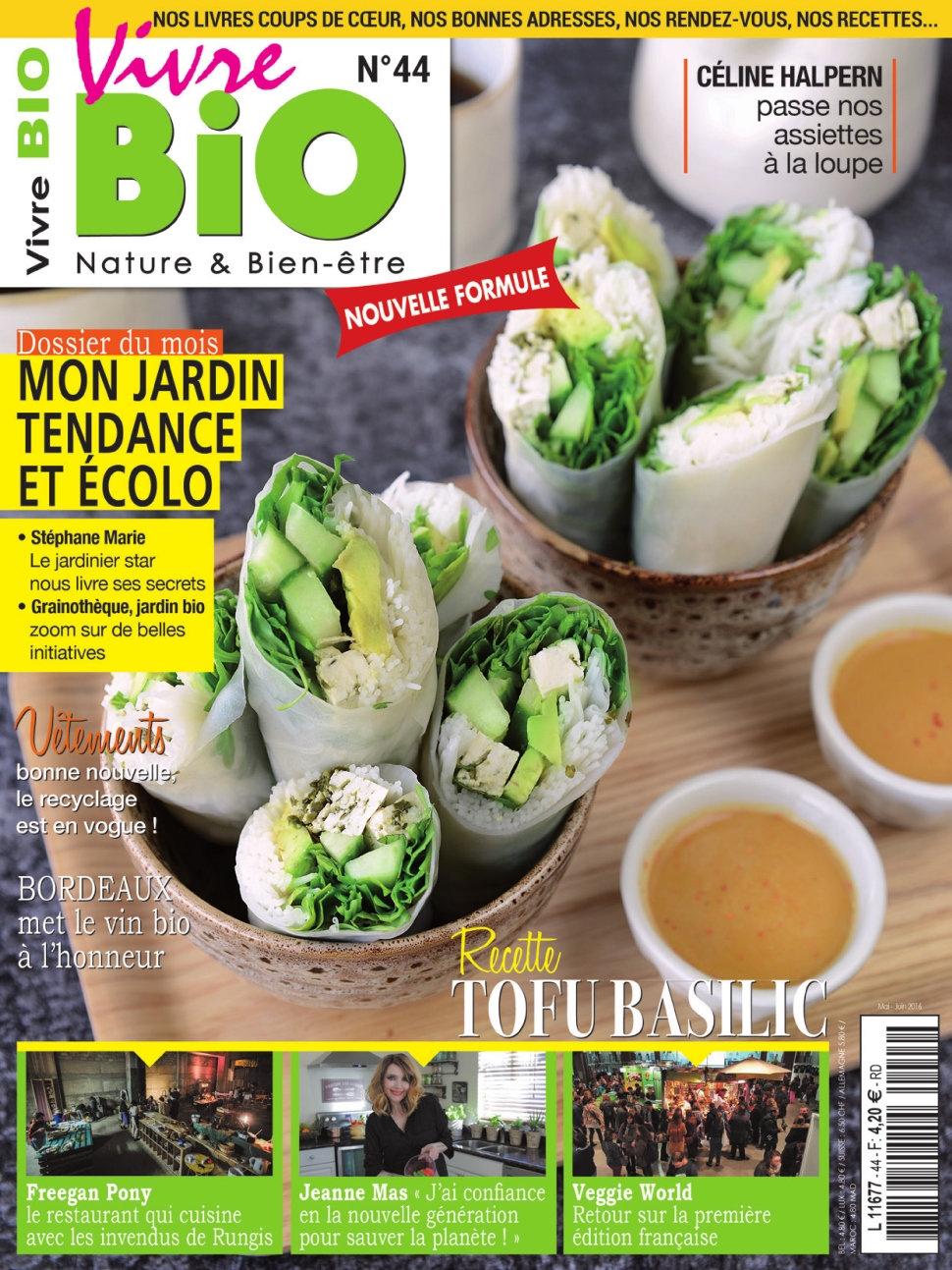 Vivre Bio N°44 - Mai/Juin 2016