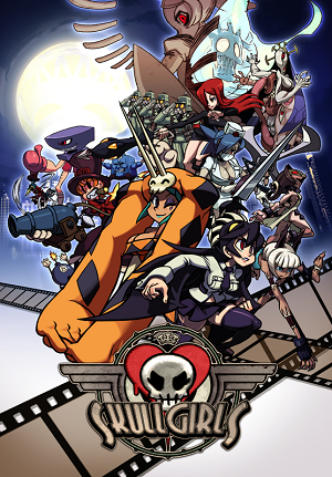 Poster for Skullgirls: 2nd Encore