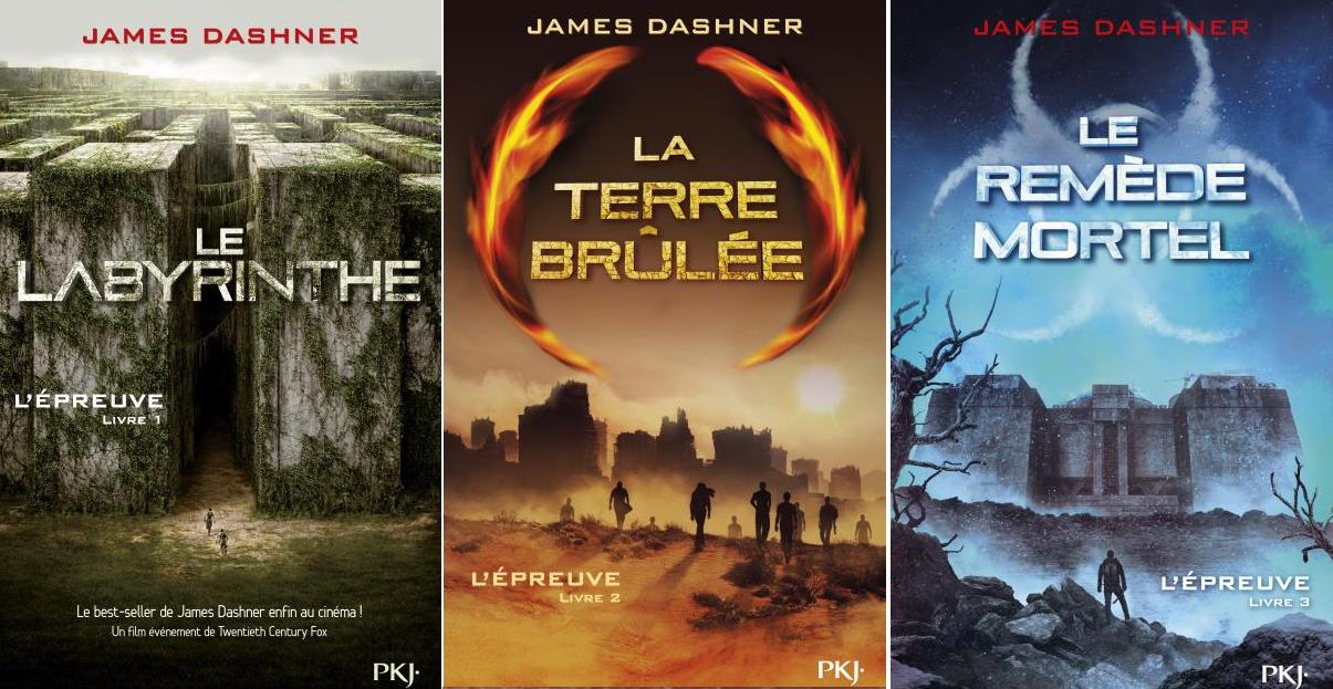 James Dashner - L'Epreuve ( Intégrale - Français)