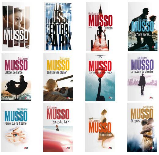 Guillaume Musso Intégrale 13 livres (ePub)