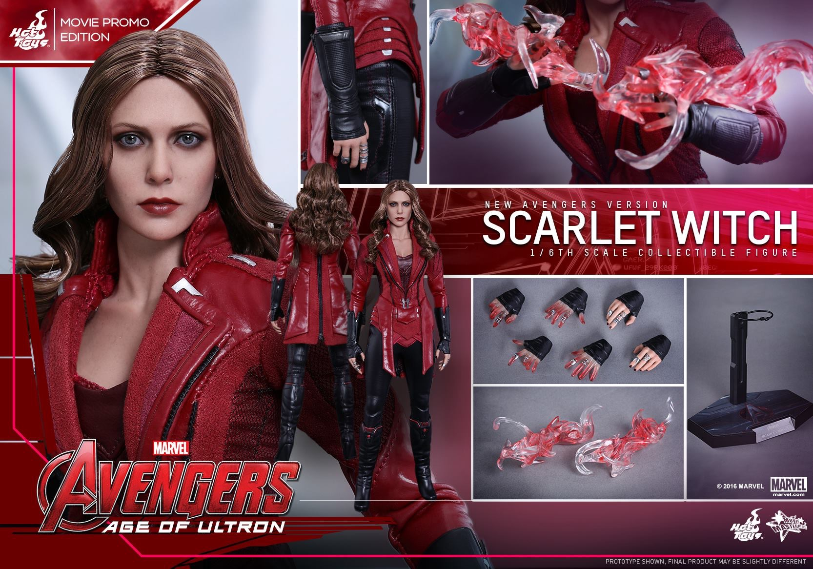 AVENGERS 2 : AGE OF ULTRON - SCARLET WITCH (MM$357) 160415024956294660