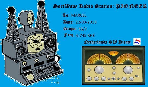 eQSL de Radio Pioneer AM 160415052605894356
