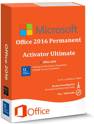Office 2016 Permanent Activator Ultimate v1.1   Portable