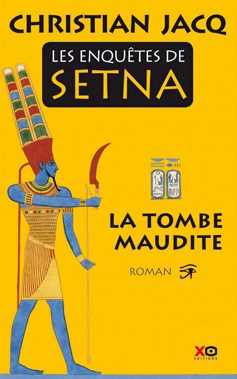 JACQ, Christian - Les enquêtes de Setna (série complète - 4 tomes)