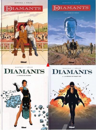 Diamants 4 Tomes