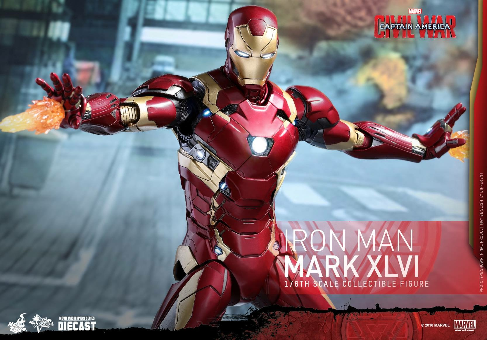 CAPTAIN AMERICA : CIVIL WAR - IRON MAN MARK XLVI (MMS353DC16) 160419024026331627