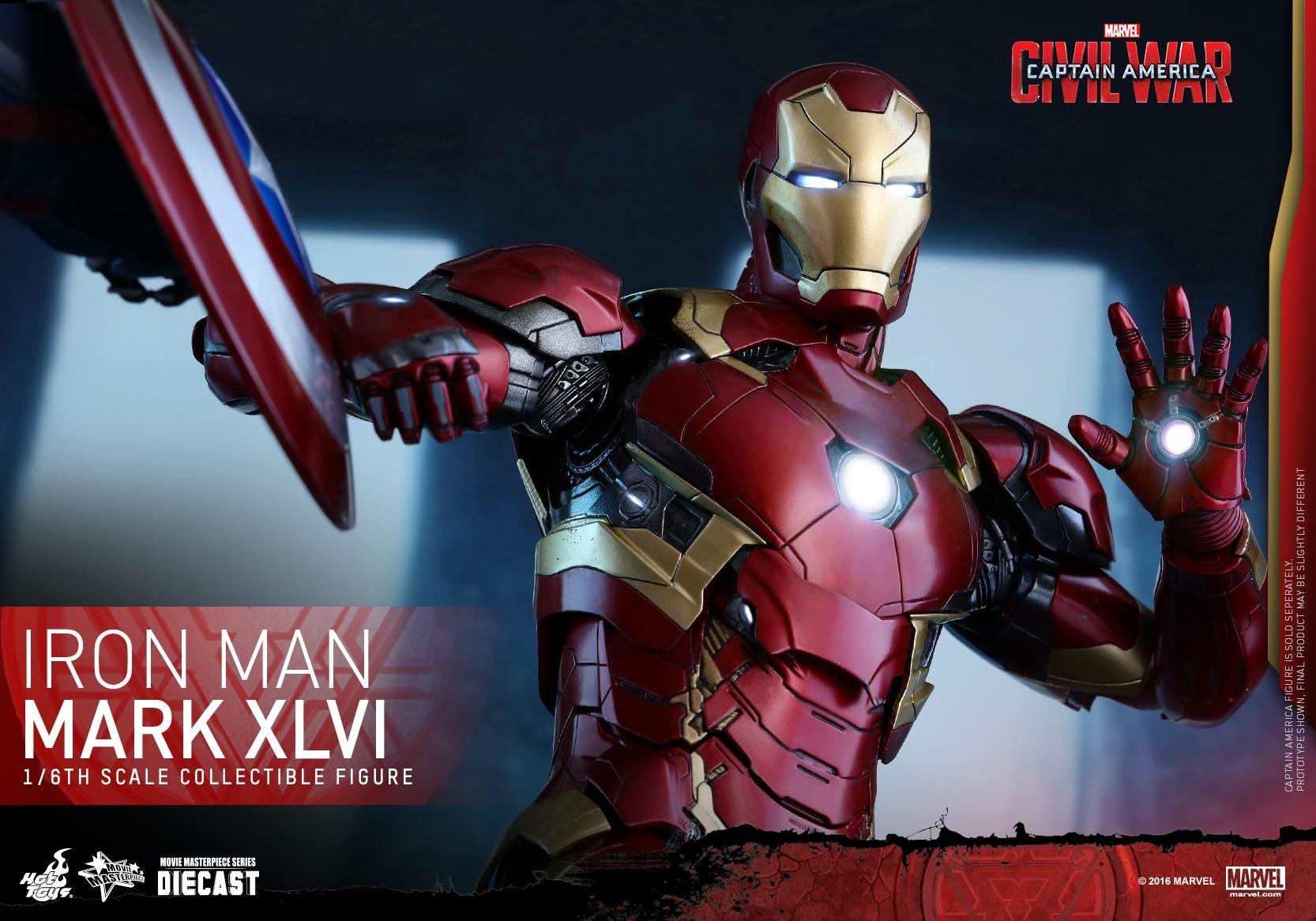 CAPTAIN AMERICA : CIVIL WAR - IRON MAN MARK XLVI (MMS353DC16) 160419024028157826
