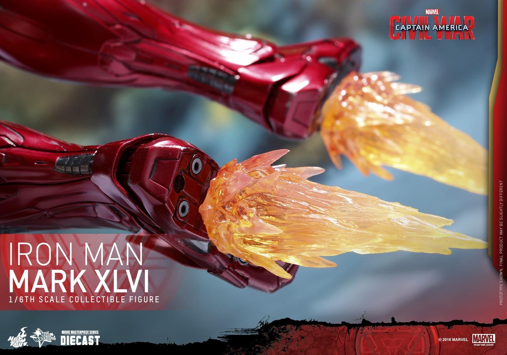 CAPTAIN AMERICA : CIVIL WAR - IRON MAN MARK XLVI (MMS353DC16) 160419024056362623