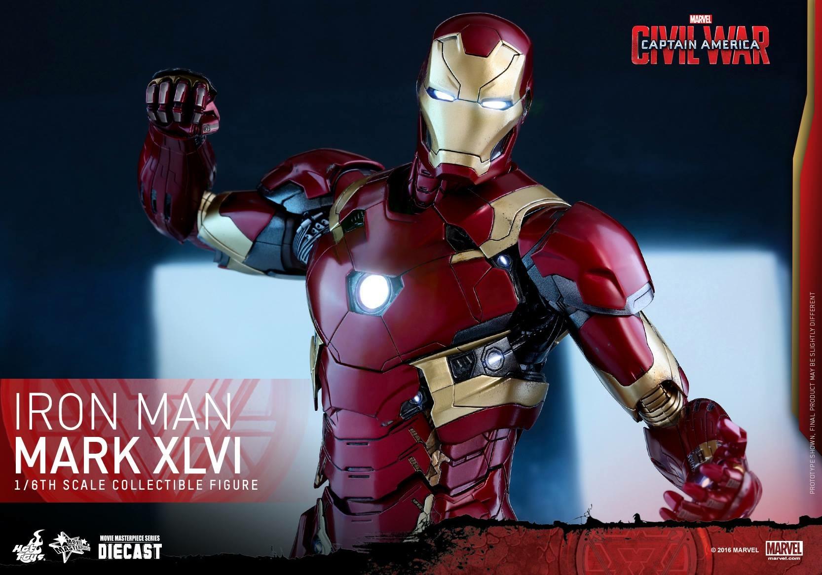 CAPTAIN AMERICA : CIVIL WAR - IRON MAN MARK XLVI (MMS353DC16) 160419024057521045