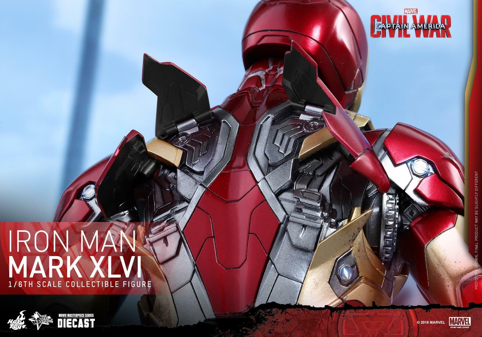 CAPTAIN AMERICA : CIVIL WAR - IRON MAN MARK XLVI (MMS353DC16) 160419024108194391