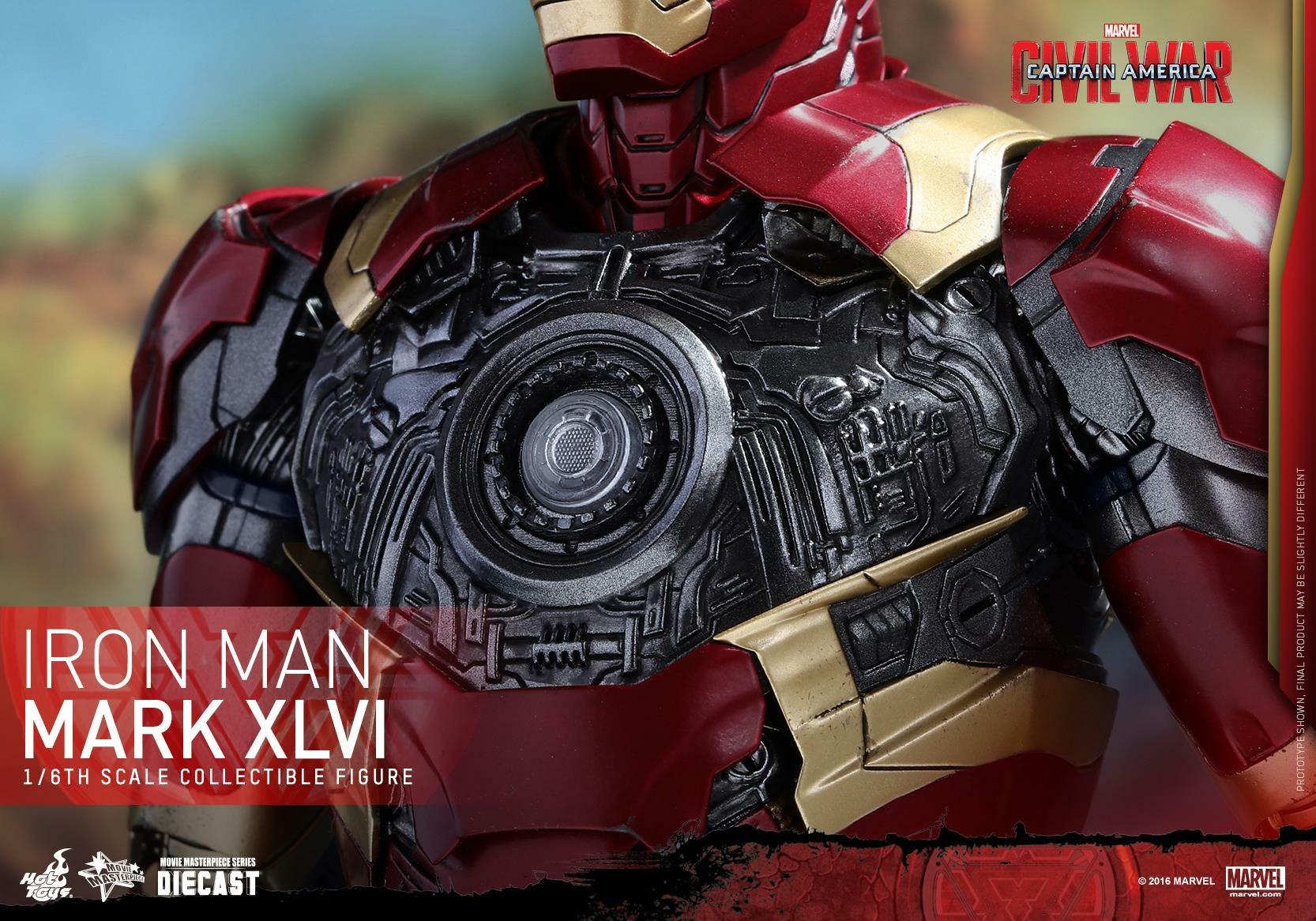CAPTAIN AMERICA : CIVIL WAR - IRON MAN MARK XLVI (MMS353DC16) 160419024112988296
