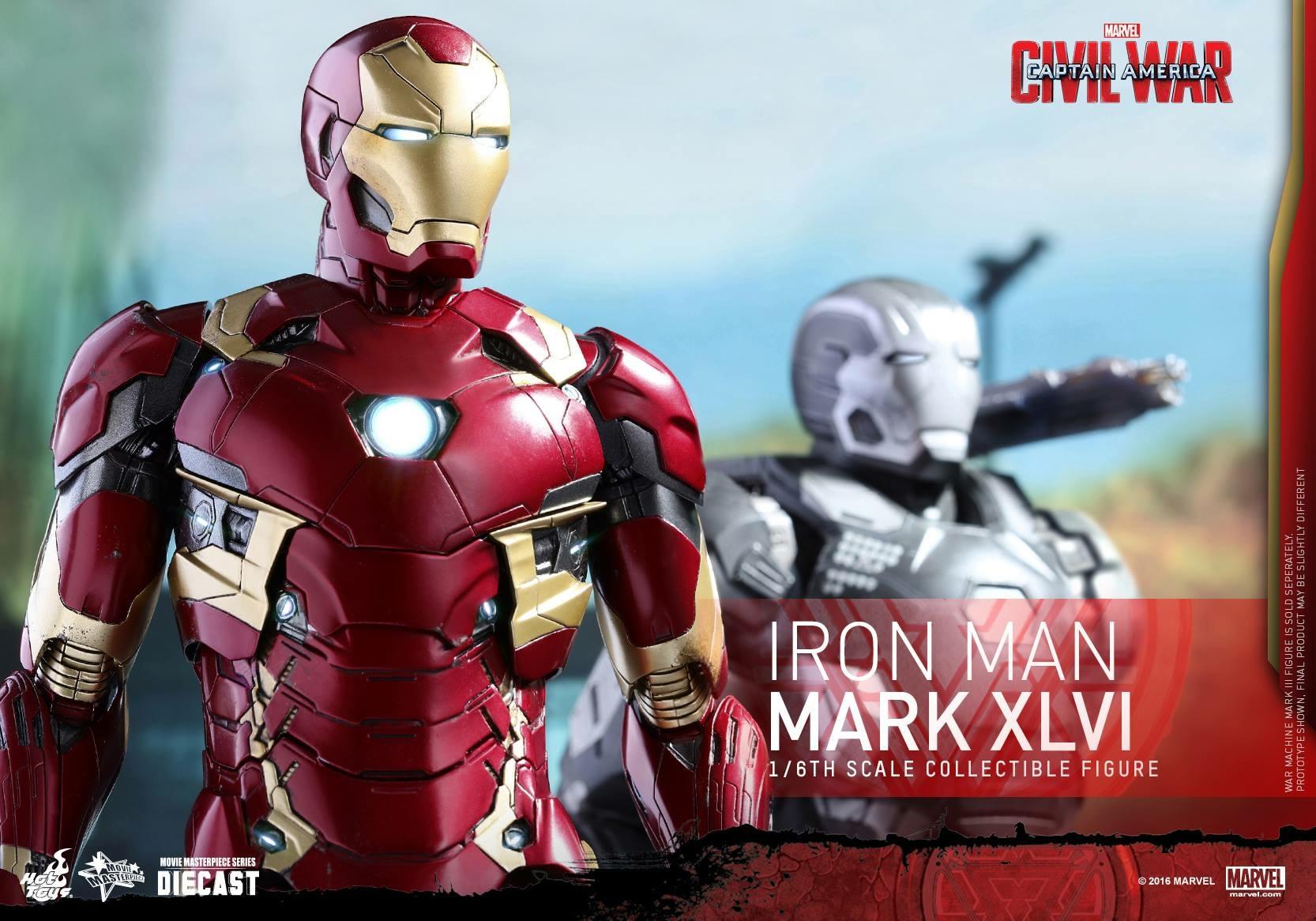 CAPTAIN AMERICA : CIVIL WAR - IRON MAN MARK XLVI (MMS353DC16) 160419024115218726