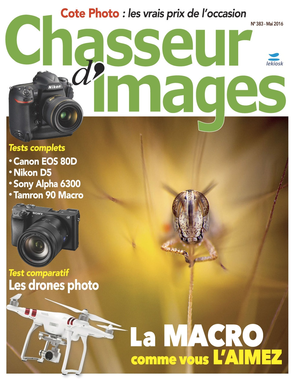 Chasseur d'Images N°383 - Mai 2016