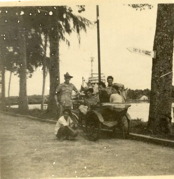 la vie d'un gendarme en poste en Indochine en 1948 1604191031478237