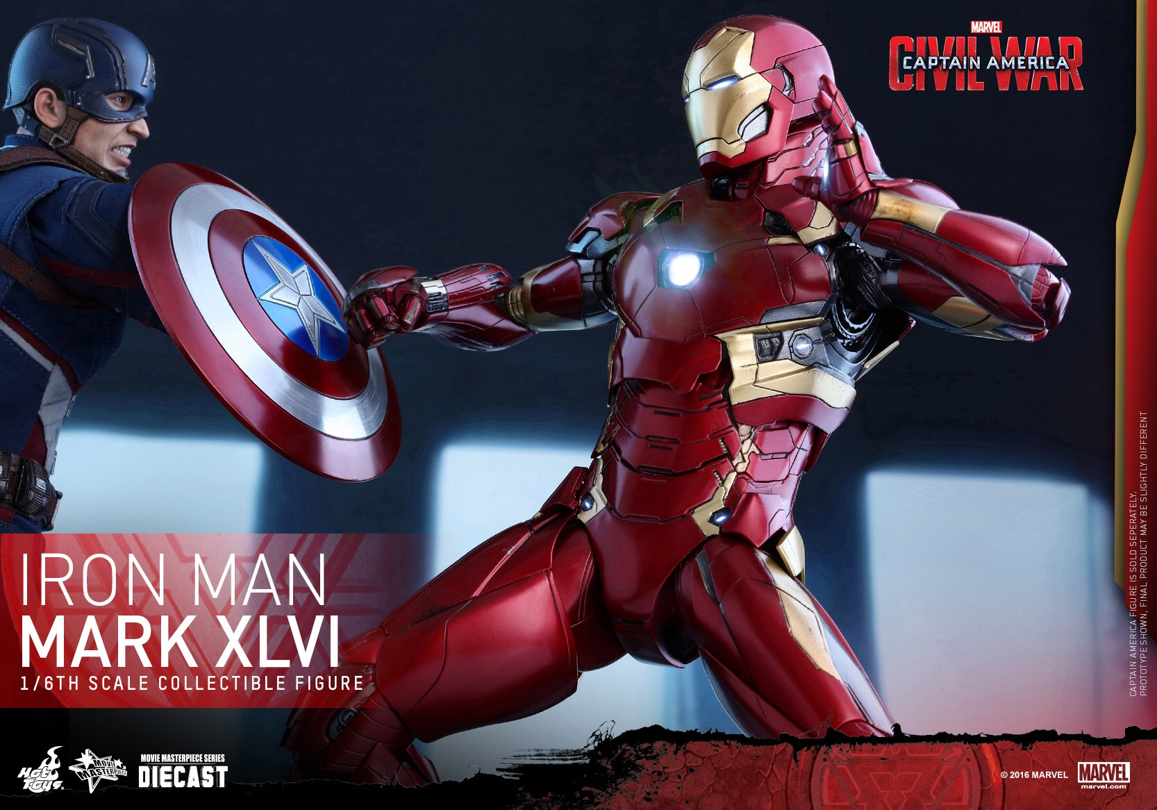 CAPTAIN AMERICA : CIVIL WAR - IRON MAN MARK XLVI (MMS353DC16) 160420020855291778