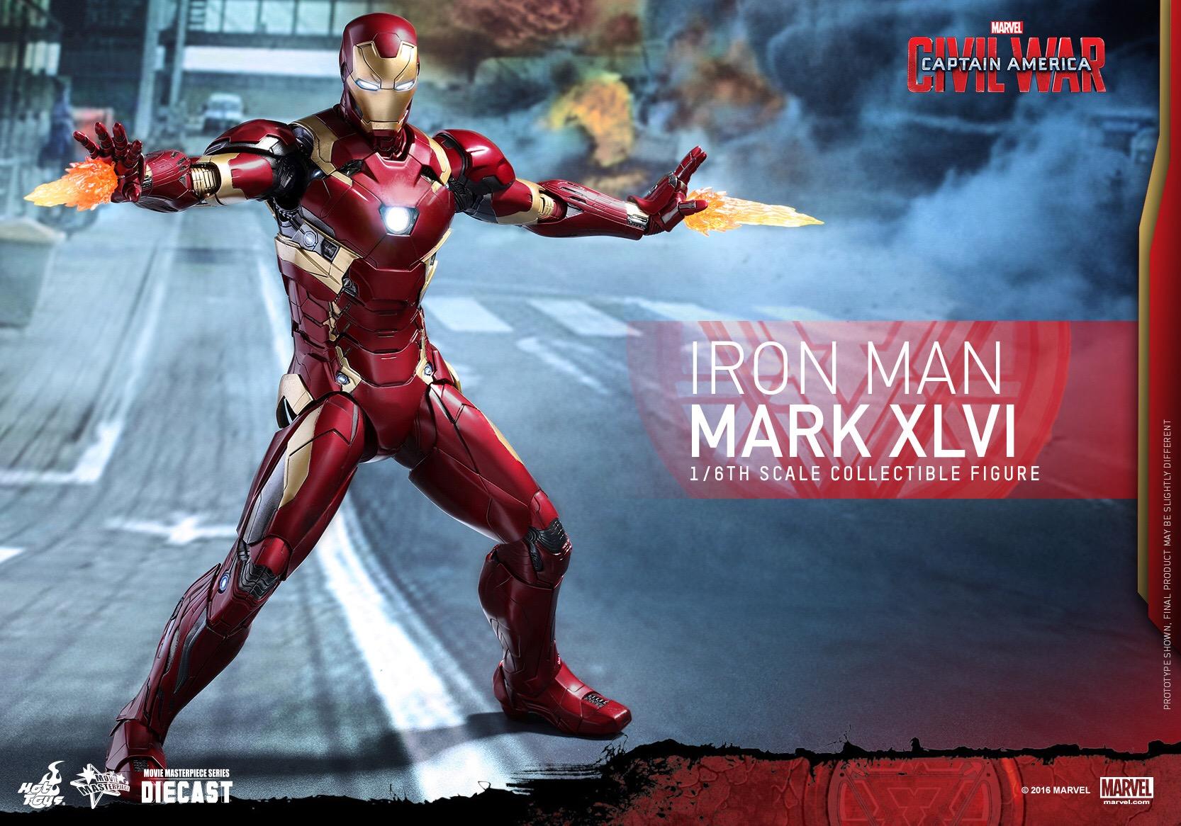 CAPTAIN AMERICA : CIVIL WAR - IRON MAN MARK XLVI (MMS353DC16) 160420020902522980