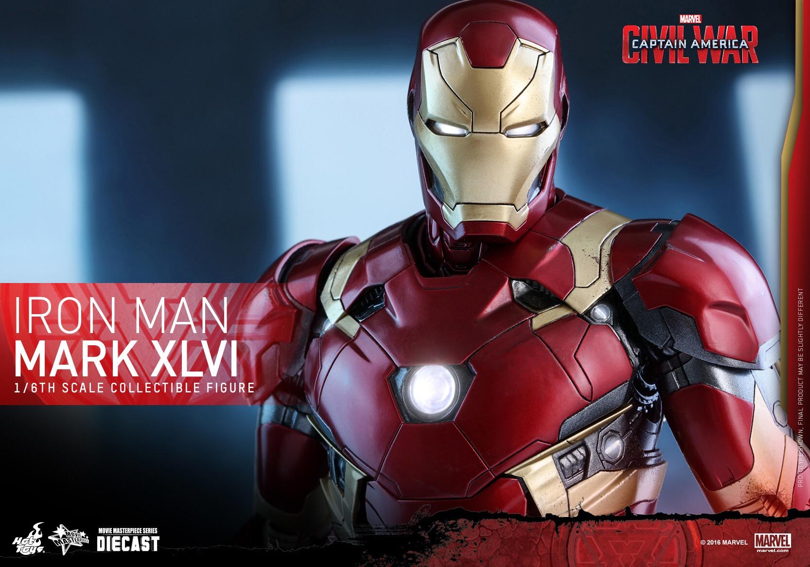 CAPTAIN AMERICA : CIVIL WAR - IRON MAN MARK XLVI (MMS353DC16) 160420020906392826