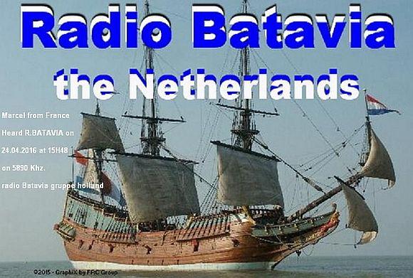 eQSL de radio Batavia 160425052422832138