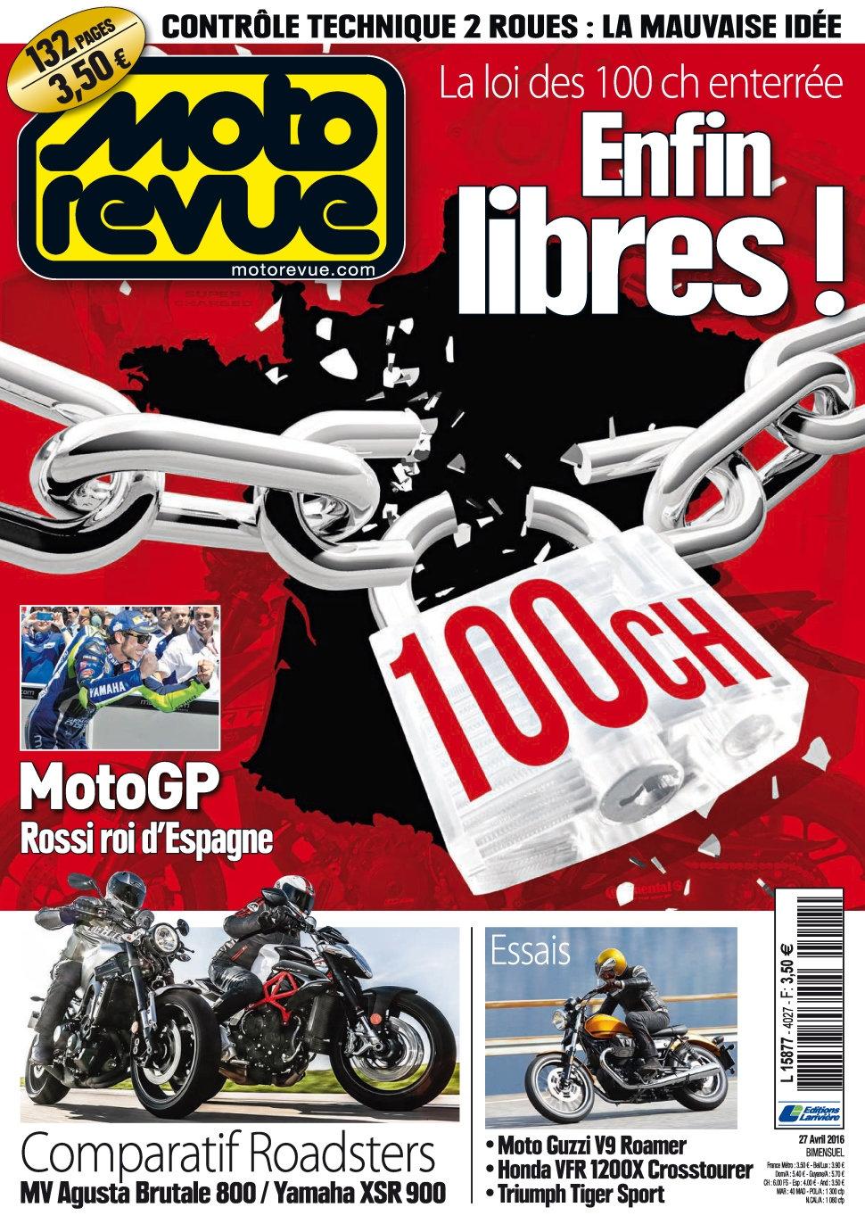 Moto Revue N°4027 - 27 Avril 2016
