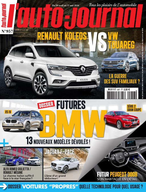 L'Auto-Journal N°957 - 28 Avril au 11 Mai 2016